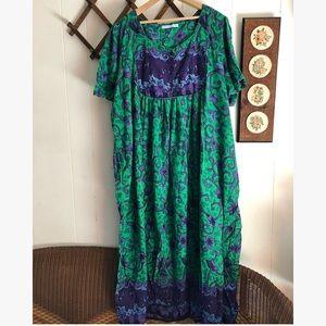 Vintage Boho House Dress